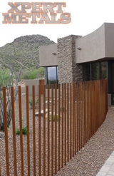 Custom Wrought Iron Fence